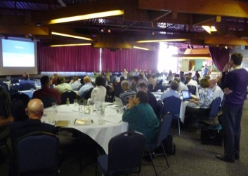 Photo from Consortium 2015 from back of the room