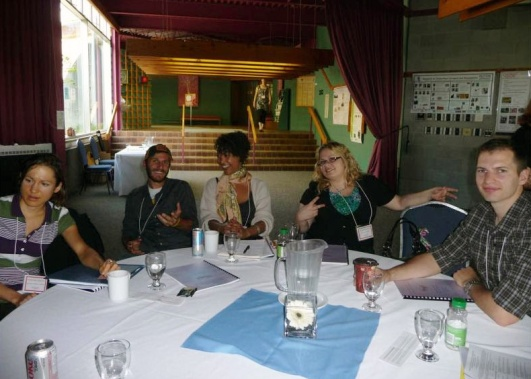 Photo from Consortium 2010 G360 Staff at the table