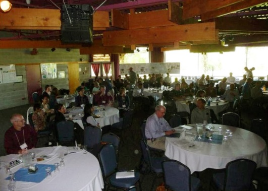 Photo from Consortium 2010 across the room