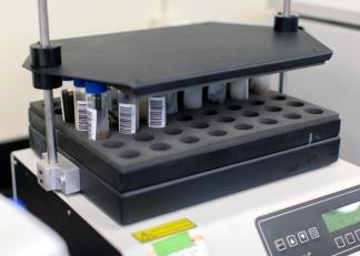 Gas Chromatograph in the G360 Aqueous Lab